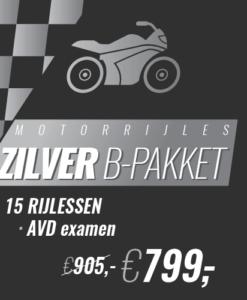 motor zilver b pakket