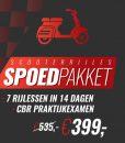 scooter spoed pakket