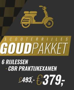 6 scooter les pakket